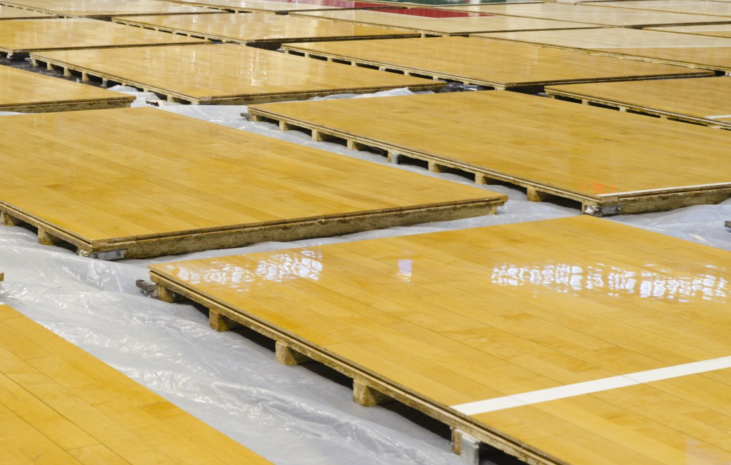 Portable aura sports for Sports flooring