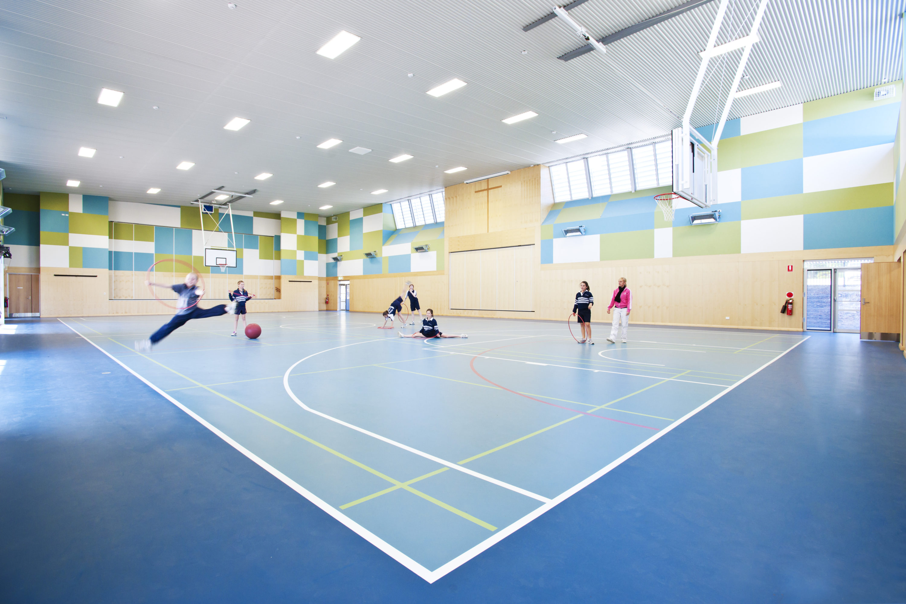 indoor sports school sports